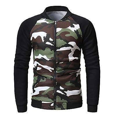 Long Sleeve Slim Tops ZYAP Casual Mens Slim Jacket Coat Long Sleeve