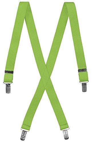 Boys Adjustable X-Back Elastic Suspenders (20