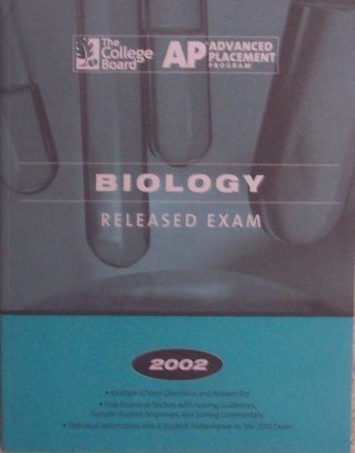 AP Biology Released Exam (2002) ebook