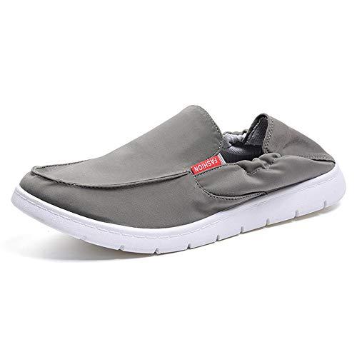 d3b47bded4585 Gris Antideslizante Transpirables Beijing Bombas Negro Para Zapatos  Superlight Soft Slip En Old Hombre Eu Tamaño 39 Sole ...