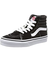 vans shoes black and white boys. kids sk8-hi (checkerboard) skate shoe vans shoes black and white boys
