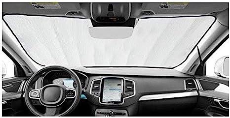 Custom-fit Windshield Sun Shade AutoTech Zone Sunshade for 2007-2016 Jeep Compass