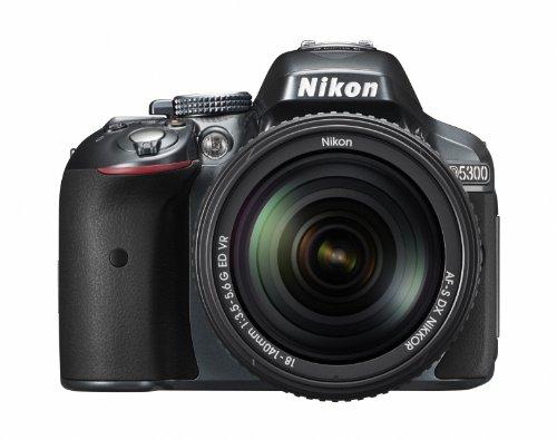 ニコン D5300 グレー レンズキット AFS DXニッコール18140mm f3.55.6G ED VR