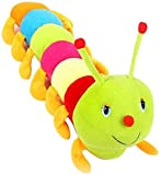 Click4deal soft lovable cute cartoon character (Caterpillar 70 Cm)