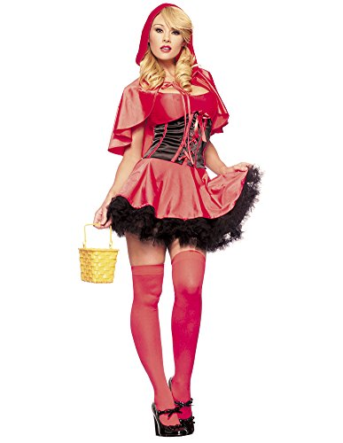 3 Pc. Women's Sexy Red Hot Riding Hood -