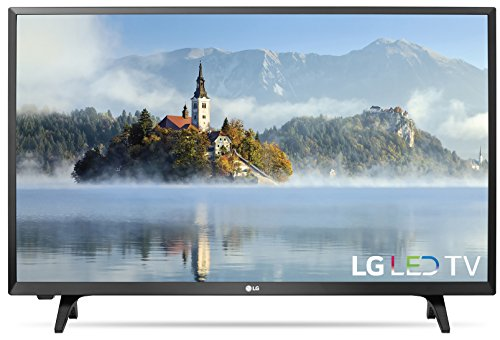 "LG 32LJ500B 32"" 720p HD LED TV with 2 HDMI / 1 USB Ports &"