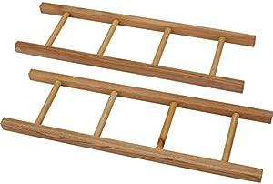 Blue Diamond Classics Pedal Car Parts, Wooden 4-Rung Ladder