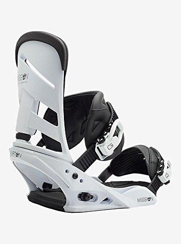 Burton 180321 Men's Mission LTD Snowboard Binding, White - L