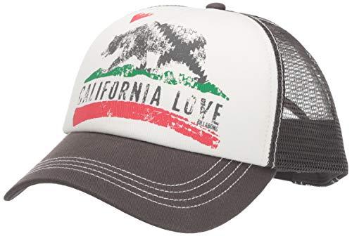 Womens Trucker Hat (Billabong Pitstop Trucker Hat, Charcoal, One)