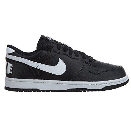 Nike Herren Big Low Basketballschuhe Blanco (Black / White)