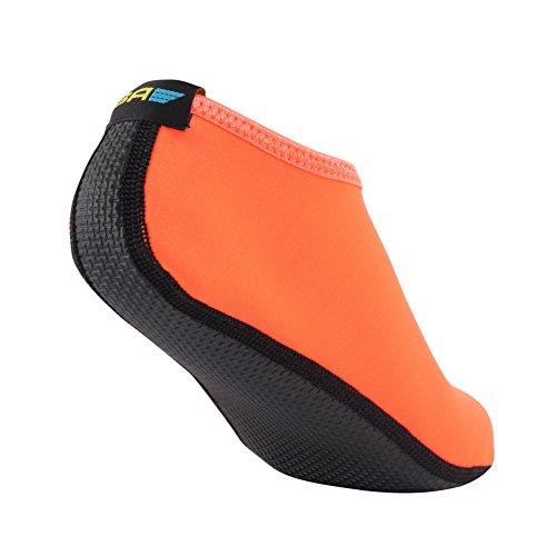 Socks Skin Barefoot Aqua Beach Kids for Men's Water Women's Exercise Orange Yoga Pool Swim Shoes Surf SHOESKISS zqpw5Sdq