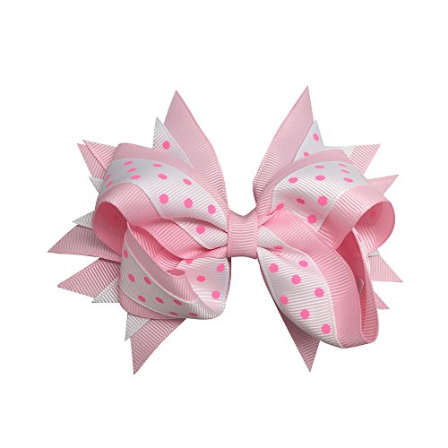 Sports Novelties Hair Bow Clips, -