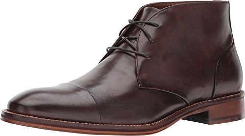 Johnston Murphy Boots (Johnston & Murphy Mens Conard Cap Toe Chukka Mahogany Boot - 9.5 M)