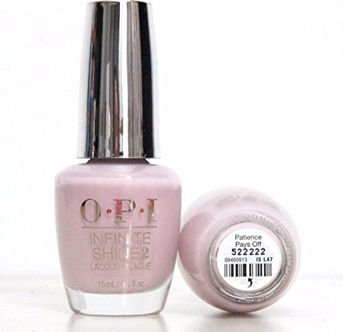 1 Pack Nail Polish Gel Soak Off Lacquer Thinner Fresh Scrub Primer Top Base Coat Nails Prep Gelish Toe Kit Pleasing Popular Manicure Tool Volume 0.5oz Color Patience Pays Off Code NL-ISL47 by GrandSao