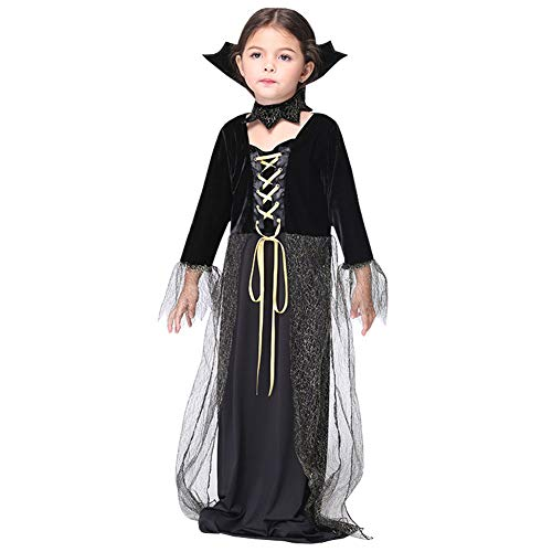 Kids Vampire Suit Role Play Fancy Dress Up Cosplay Child Party Halloween Costume