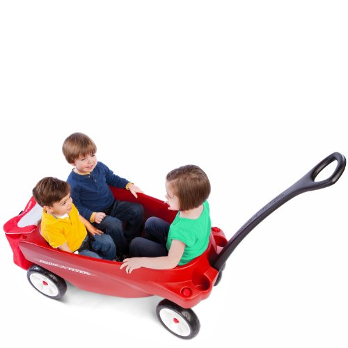 Radio Flyer Triple Play Wagon