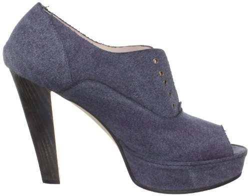 Kooba Donna Sarra Open-toe Pump Denim Scuro