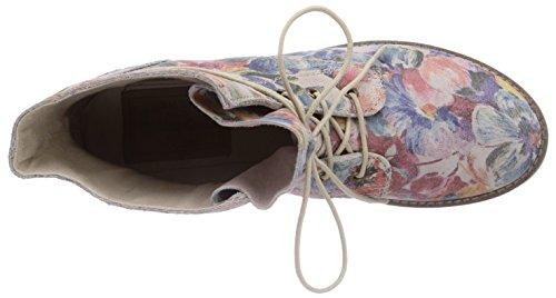 s.Oliver 25203 - botas desert de cuero mujer multicolor - Mehrfarbig (Flower Multi 990)