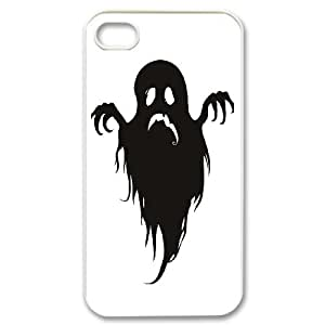 IPhone 4,4S Phone Case for Ghost pattern design GQ5G69589