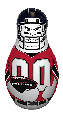Falcon Tackle (NFL Atlanta Falcons Unisex NFL Mini Tackle Buddynfl Mini Tackle Buddy, Team Logo/Colors, 12
