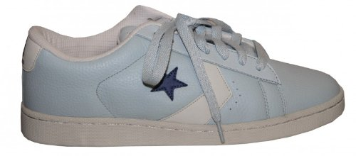 0a15d5b71330 Converse Skateboard Pro Leather VR Ox Light Blue   Cream   Blue Sneakers  Shoes
