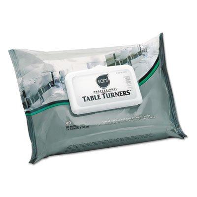Table Turner Wipes White Carton
