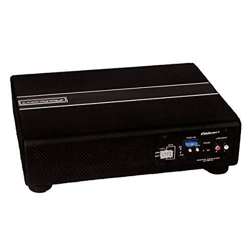 Caixa Amplificada Selada Ultra Slim, Falcon, Xs200.1Esi, Módulos E Amplificadores, Preto