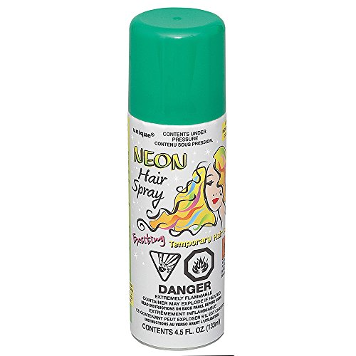 unique-hair-color-spray-green