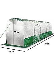 Bio Green Super Dome Pantalla túnel, Transparente, Verde