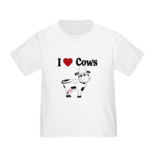 CafePress Love Toddler T Shirt Cotton