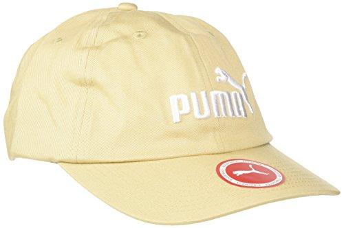 Puma ESS Cap Gorra, Unisex Adulto Pebble/Blanco