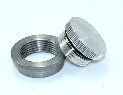 BungKing Aluminum Filler Cap with stainless steel weld in bung