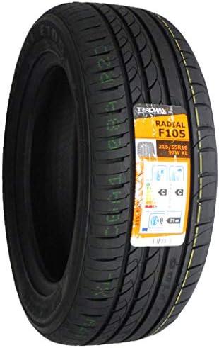 TRACMAX(トラックマックス) Radial F105 215/55R16 97W サマータイヤ