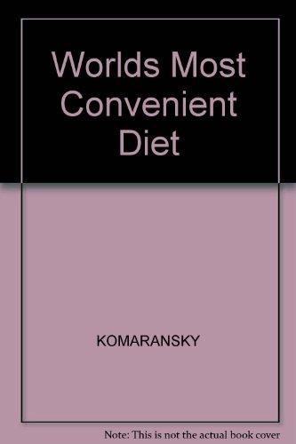 The World's Most Convenient Diet