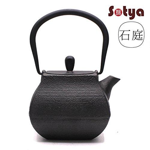 Japanese Tetsubin Pot Cast Iron Teapot Black Japan Tea Kettle Metal Teapots Sets for Sale Matte 0.7L or 24oz
