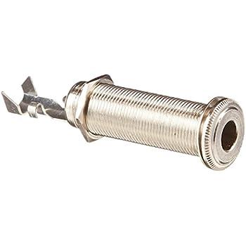 Amazon.com: Long Threaded Barrel Input Jack Stereo ...