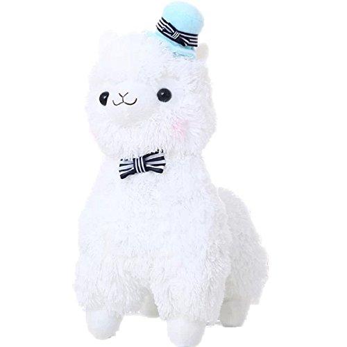 Honcuby Alpaca Stuffed Animals Bowknot product image