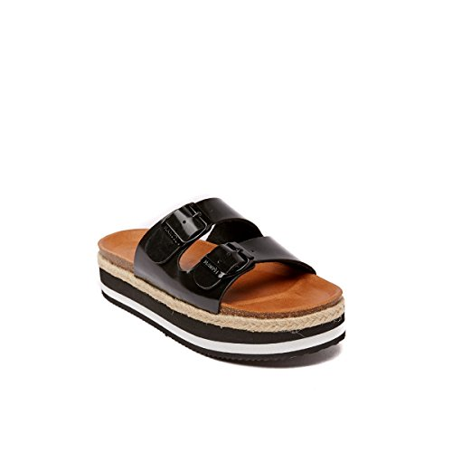 Black Mandèl Women's Black SANDALO Fashion Sandals wA4qRHv