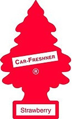 Car Freshner U1P-10312 Strawberry Little Tree Air Fresheners