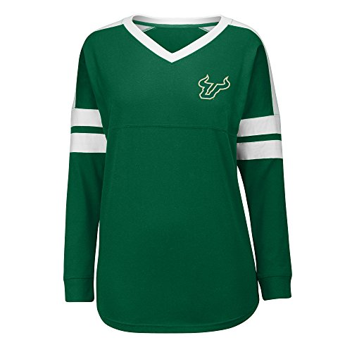 J America NCAA South Florida Bulls Women's Gotta Have It Cheer Tee, Medium, (Cheers Ladies Tee)