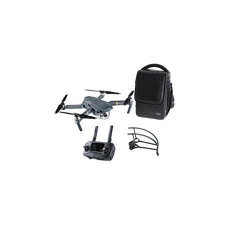 DJI Mavic Pro Aerial 4K Camera Drone Bundle w/ Shoulder Bag & Prop Guard (Certified Refurbished) 2