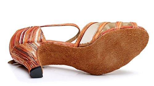 Jazz e Joymod 35 Heel Moderno MGM Orange Rosso 6cm Donna fwZBPq