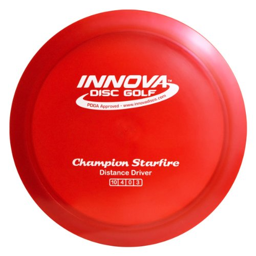 Innova Disc Golf Champion Material Starfire Golf Disc, 165-169gm (Colors may vary)