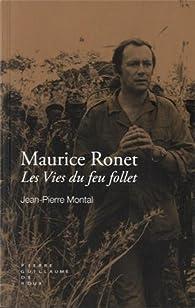 Maurice Ronet : Les vies du feu follet par Jean-Pierre Montal