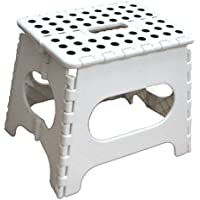 Jeronic 11-Inch Folding Step Stool Holds up to 300 lb