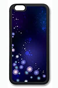 Cool Flowers Slim Soft For HTC One M7 Case Cover Case Hard shell Black Cases