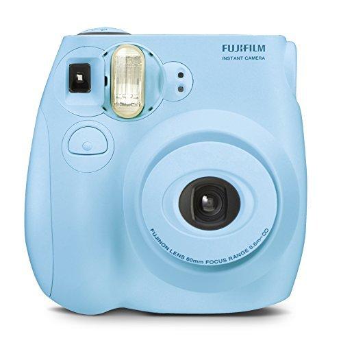 Fujifilm Instax MINI 7s Light Blue Instant Film Camera (Renewed) by Fujifilm