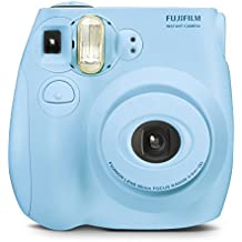 Fujifilm Instax MINI 7s Light Blue Instant Film Camera (Renewed)
