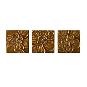 SEI Magnolia Wall Panel Art, Set of 3
