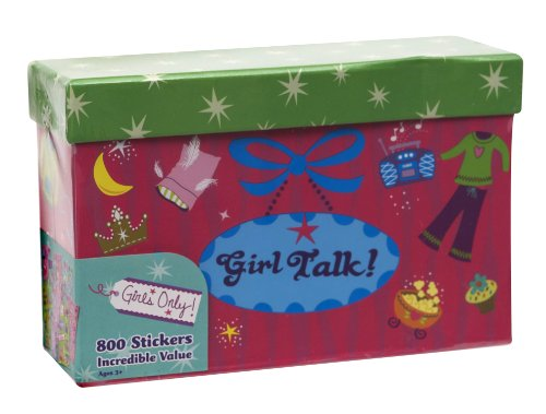 Paper Magic Girls Only, Girl Talk 800 Count Sticker -